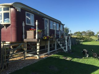 Perfect 1 bedroom Corfe Castle Shepherds hut with Deck - Corfe Castle vacation rentals