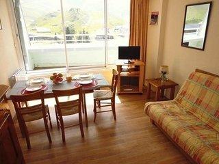 Nice La Mongie Studio rental with Television - La Mongie vacation rentals