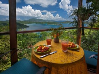 Tea Treehouse: Most Romantic St. John Lovers Cottage *FREE JEEP RENTAL til 10/31 - Coral Bay vacation rentals