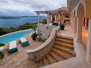 Villa Solemare: Exquisite Mediterranean-Inspired Coral Bay Villa - All fees incl - Coral Bay vacation rentals