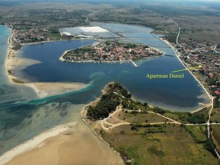 Apartment Danijel Nin beautiful sandy beaches and paradise for families - Nin vacation rentals