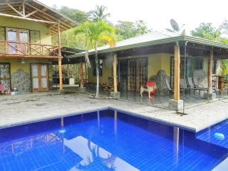 Private Compound w/Pool, 4 Bedrooms, 4 Bathrooms. Great Ocean & Mountain Views! - Playa Hermosa vacation rentals