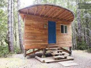 Half Moon Cozy Off-Grid Cabin at MMV Ecovillage - Gasquet vacation rentals