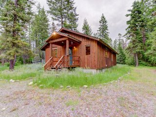 Charming cabin near Flathead Lake with wood stove and deck! - Creston vacation rentals