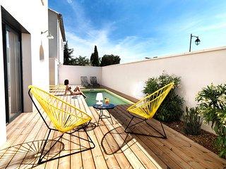 Bedoin, maison contemporaine pour amoureux du design, du sport et du Ventoux - Bedoin vacation rentals