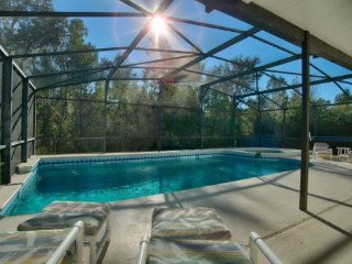 5411DRD. Beautiful Six Bedroom Home With Large Private Pool - Intercession City vacation rentals