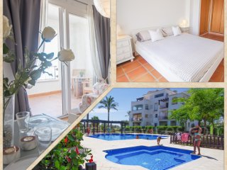 Penthouse apartment in La Torre Golf Resort, Murcia - Free WIFI - Car available - Roldan vacation rentals