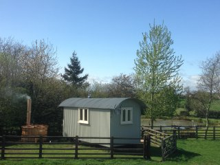 Beautiful Shepherds hut with Television and DVD Player - Whashton vacation rentals