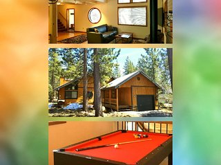 Pine Cone Place :) Loft/PingPong/PoolTable + Gym/Pool/Sauna/HotTub Passes! - Truckee vacation rentals