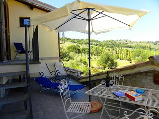 Apartment fantastic view on Umbrian hills, Assisi, Spello and Bevagna - Bevagna vacation rentals