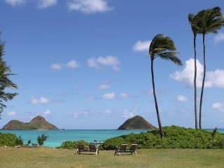 Amazing Oceanfront home, perfectly family-friendly, designed for relaxation. - Lanikai vacation rentals