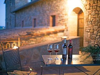 Typical Stone House looking Banfi Wineries - Porrona vacation rentals