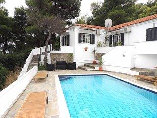 Sea View Villa with Private Pool - Kanapitsa vacation rentals