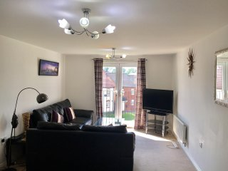 Solihull - Rose Gold Apartment with Juliet Balcony Near Airport & NEC - Solihull vacation rentals