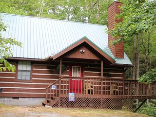 NEW! SECLUDED Chalet Style Cabin with Soaring Ceilings, Jacuzzi - Gatlinburg vacation rentals