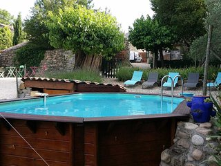 Spacious property with pool access - Grospierres vacation rentals