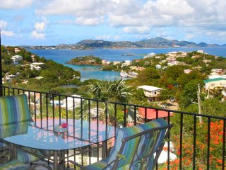 Captivating Coral views await you! Affordable with granite counters and a pool! - Cruz Bay vacation rentals