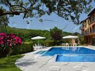 Resort in collina vista mare con piscina. struttura di 10 appartamenti - Massignano vacation rentals