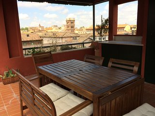 Ultimate Roman Panoramic Penthouse in center - Roma vacation rentals