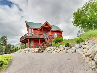 Lakefront A-frame with dock, theater room, & great views of Wild Horse Island! - Rollins vacation rentals