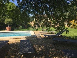 Spacious villa with swimming-pool - Saint-Pantaleon vacation rentals