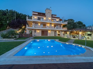 Spacious villa with swimming-pool - Kaloniktis vacation rentals