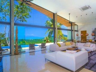 Azur Samui New Smart Ocean View Villa 16 - Mae Nam vacation rentals
