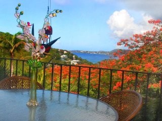 Fabulous Fiesta unit has amazing views! Nicely updated with granite counters! - Cruz Bay vacation rentals