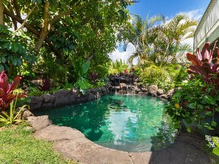 """""""Paradise Found $1080/NT 8/25-9/10~Ocean View House & Cottage~Pool~Hot Tub~AC"""" - Waimanalo vacation rentals"""