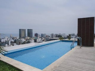 PERU APARTMENTS RENT -  MIRAFLORES POOL GYM - Lima vacation rentals