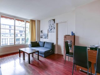 W021 - Well located and comfortable F2 - Boulogne - Boulogne-Billancourt vacation rentals