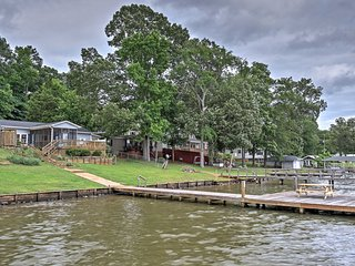 NEW! Waterfront 2BR Waterloo House w/Private Dock! - Waterloo vacation rentals