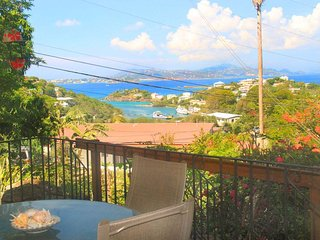 Incredible Indigo studio! Spacious studio with sunset views and full kitchen! - Cruz Bay vacation rentals