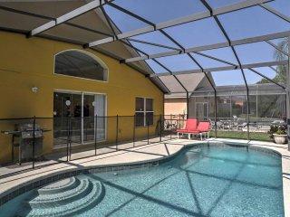 New! 4BR Kissimmee Villa w/Lanai Patio & Pool! - Kissimmee vacation rentals