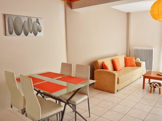 B1 2 levels 60sq.m flat with balcony and terrace - Chania vacation rentals