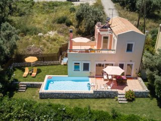 Peaceful villa with pool and magic view in Crete - Agia Paraskevi vacation rentals