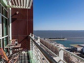 Lisbon Fabulous 17th Floor River View Duplex  Expo - Image 1 - Lisboa - rentals