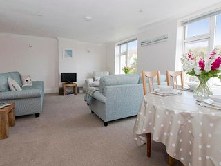 GODREVY is an apartment within the former Porthcurno Hotel, two bedrooms both - Porthcurno vacation rentals