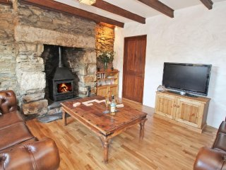 TREVEAN character cottage one mile from beach, woodburner, two pets welcome - Illogan vacation rentals