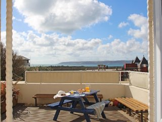CASTAWAYS modern ground floor seafront apartment, private decked terrace, in - Marazion vacation rentals