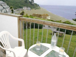 BEACH VIEW, part of a complex, wonderful sea views, communal garden near Looe - Seaton vacation rentals