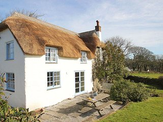 ROSE COTTAGE pretty 16th century thatched cottage, lovely garden, WiFi, rural - Manaccan vacation rentals