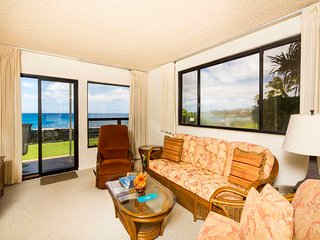 Poipu Shores - 2BR Oceanfront Suite #107A - Poipu vacation rentals