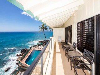 Poipu Shores - 3BR Oceanfront #301B - Poipu vacation rentals