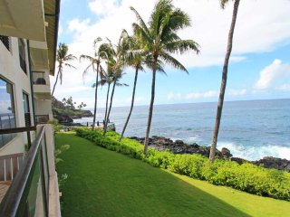 Poipu Shores - 2BR Deluxe Oceanfront Suite #204A - Poipu vacation rentals