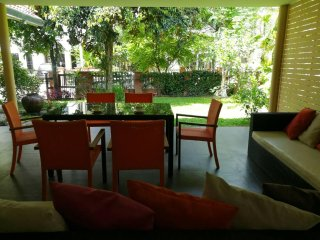 Family home in safe, gated community, close to communal pool. Large outdoor area - Si Chiang Mai vacation rentals