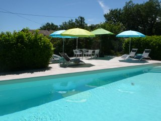 PRICE REDUCED: newly refurbished pool, lovely house in rural setting - Caylus vacation rentals