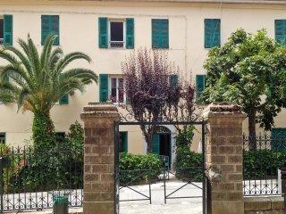 Village flat with terrace & garden - Venaco vacation rentals