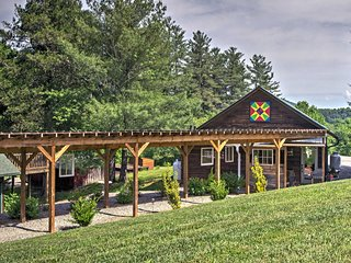 NEW! Unique 3BR Brevard House w/Yard & Mtn Views! - Penrose vacation rentals