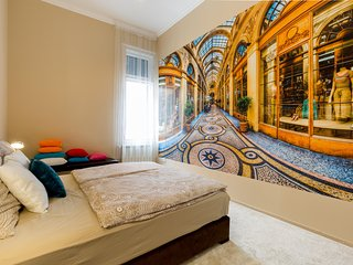 Central luxurious, comfy, brand new 2 bedrooms,living room,  up to 6 pers. - Budapest vacation rentals